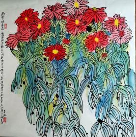 鲁慕迅 花卉