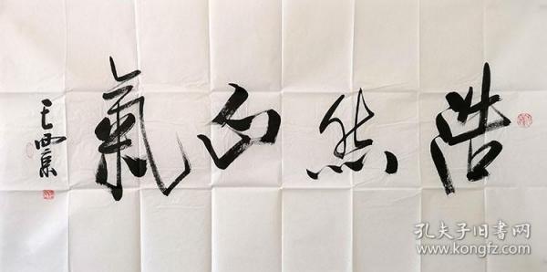 王西京书法  浩然正气