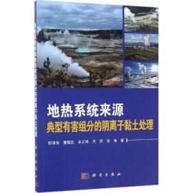 地热系统来源典型有害组分的阴离子粘土处理