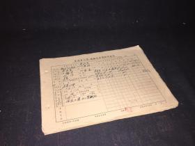 1963年乐清县工商运输企业登记申请书  112张