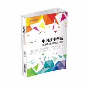 正版中国技术创新资源配置与激励研究