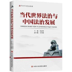 正版当代法治与中国法治发展