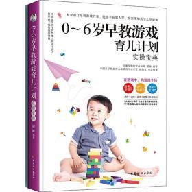 正版0-6岁早教游戏育儿计划(提升孩子的智商和情商·全2册)