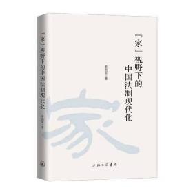 """正版""""家""""视野下的中国法制现代化"""