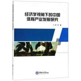 经济学视角下的中国体育产业发展研究 胡昕 著 9787567019966