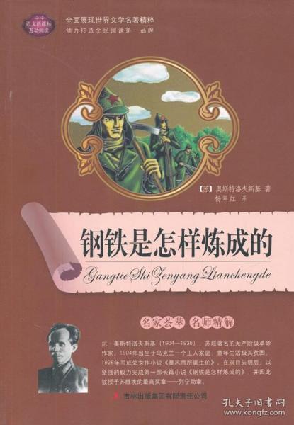 (名师导读版)初中生语文新课标必读:钢铁是怎样炼成的 (苏)奥