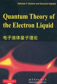 电子液体量子理论  (美)朱利安尼 著 9787510029646