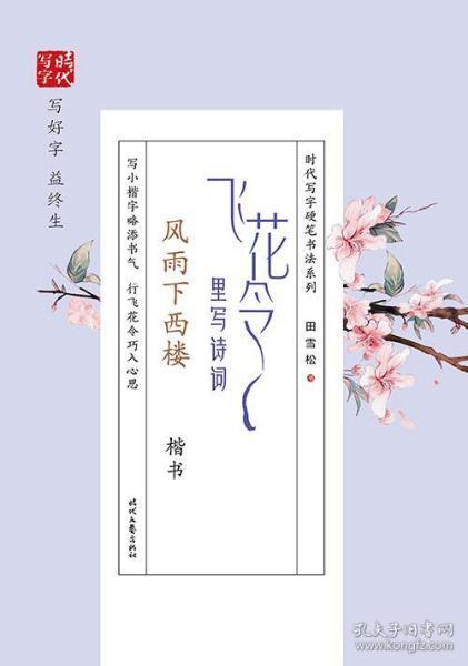 飞花令里写诗词风雨下西楼楷书 田雪松 9787538762266