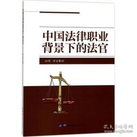 全新图书中国法律职业背景下的法官
