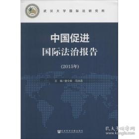 全新图书中国促进国际法治报告(2015年)