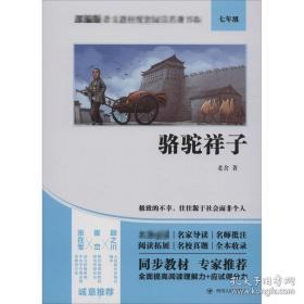 全新图书骆驼祥子 新课标阅读 老舍