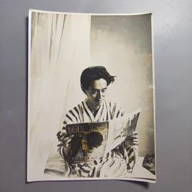 二战时期民国照片—鬼子伤兵    尺寸:15.5*11.5厘米