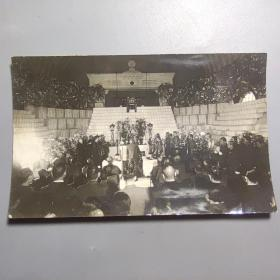 二战时期民国照片—鬼子祭拜   尺寸:13.5CM*8.5厘米