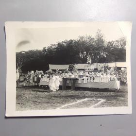 二战时期民国照片—鬼子战死祭拜   尺寸:16.5CM*12厘米