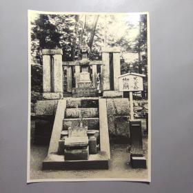 二战时期民国照片—鬼子御庙    尺寸:15.5*11厘米
