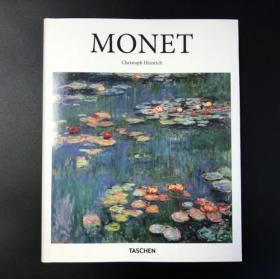 [现货] 原版 Monet Basic Art MONET 莫奈画集 精装本 taschen