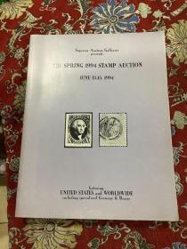 THE SPBING 1994 STAMP AUCTION