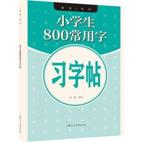 小学生800常用字字帖 学生常备字帖 朱涛