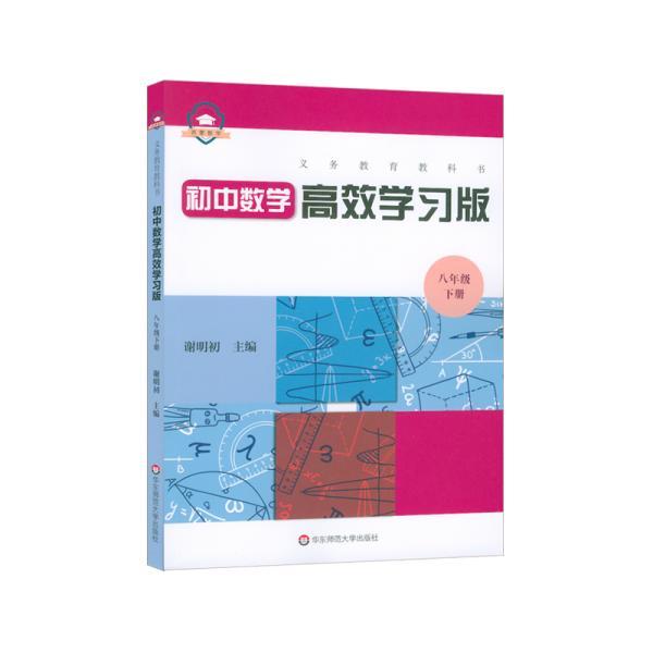 义务教育教科书初中数学高效学习版 八年级下册