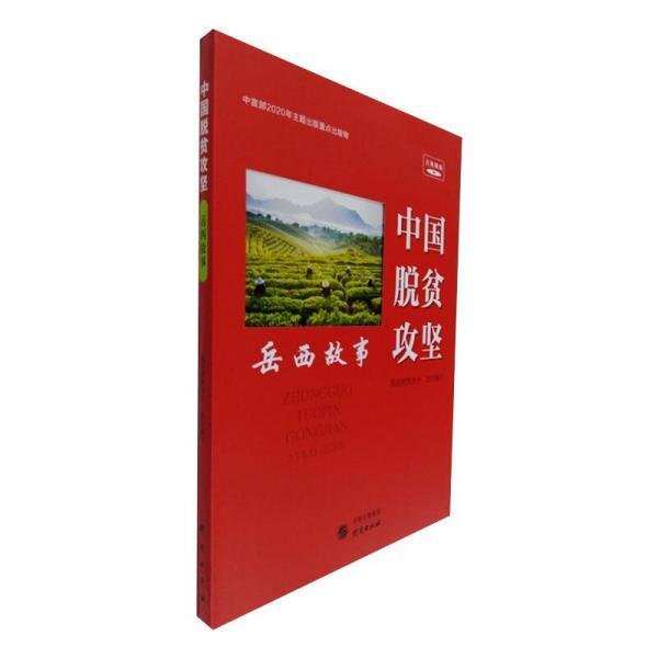 中国脱贫攻坚(岳西故事音视频版)/中国脱贫攻坚故事丛书