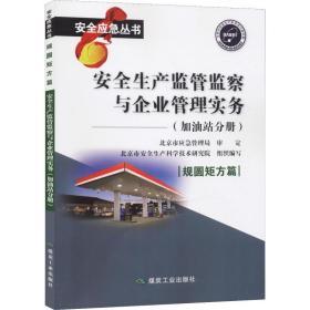 安全生产监管监察与企业管理实务  加油站分册