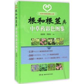 实用中草药彩色图鉴大全集:根和根茎类中草药彩色图鉴