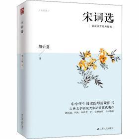 宋词选 中国古典小说、诗词 胡云翼 新华正版