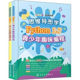 思维导图学Python 3.7青少年趣味编程