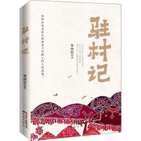 驻村记 中国现当代文学 黎晓阳 新华正版