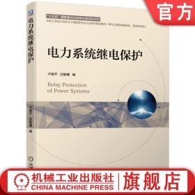 电力系统继电保护 卢继平 沈智健 十三五国 家重点出版物出版规划项目 9787111625445机械工业出版社