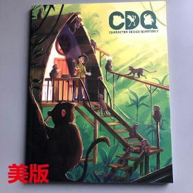 现货英文原版 CDQ 角色设计季刊14 Character Design Quarterly14