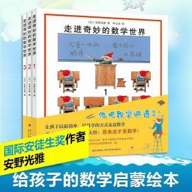 新华正版走进奇妙的数学世界全3册安野光雅一二三四年级儿童数学启蒙书籍3-6-9岁幼儿好玩的数学早教绘本宝宝数字大冒险亲子游戏书