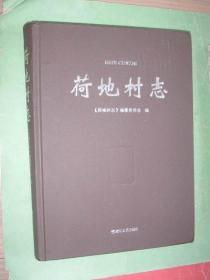 荷地村志(16开精装本,2019年1版2印,非馆藏,95品)