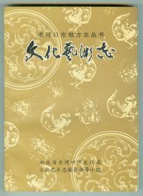 老河口地方志丛书《文化艺术志》多图片仅印0.1万册
