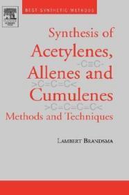 预订Best Synthetic Methods: Acetylenes, Allenes and Cumulenes