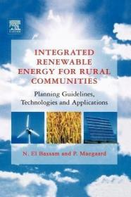 预订Integrated Renewable Energy for Rural Communities