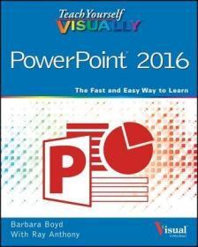预订Teach Yourself Visually PowerPoint 2016