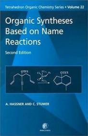 预订Organic Syntheses Based on Name Reactions