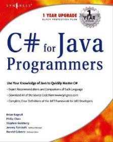 预订C# For Java Programmers