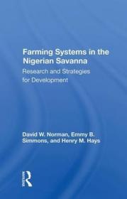 预订Farming Systems In The Nigerian Savanna