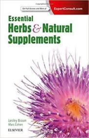 预订Essential Herbs and Natural Supplements