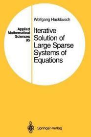 预订Iterative Solution of Large Sparse Systems of Equations
