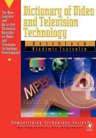 预订Dictionary of Video and Television Technology