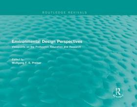 预订Environmental Design Perspectives