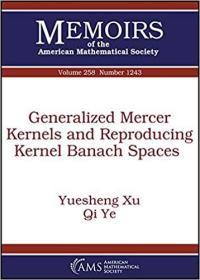 预订Generalized Mercer Kernels and Reproducing Kernel Banach Spaces