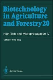 预订High-Tech and Micropropagation IV