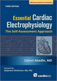 预订 Essential Cardiac Electrophysiology, Third Edition