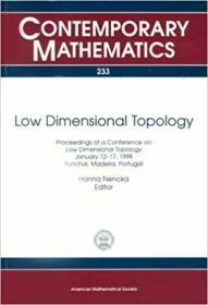 预订Low Dimensional Topology