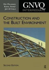 预订Intermediate GNVQ Construction and the Built Environment, 2nd ed