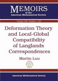 预订Deformation Theory and Local-Global Compatibility of Langlands Correspondences
